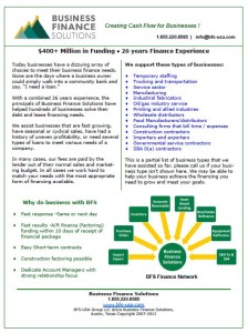 Download our financing flyer (PDF) here.