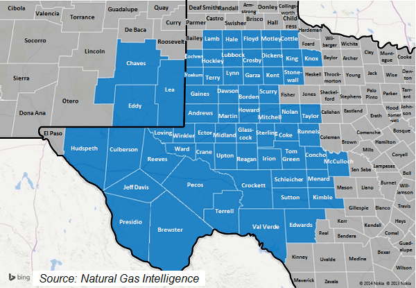 Texas Natural Gas Production And Price